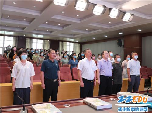 唱一支红色歌曲《没有共产党就没有新中国》