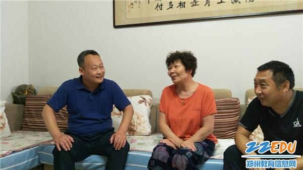 慰问杨桂英老师