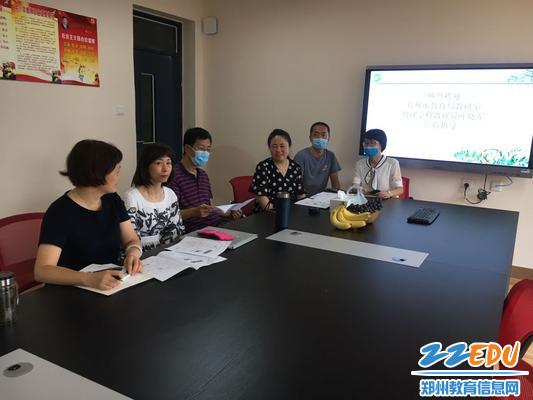 07叶晓军老师与物理组老师进行深入交流中招物理复习备考策略