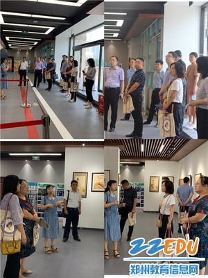 专家组在该校副党委书记段红军、副校级干部赵泳江陪同下,参观实训室