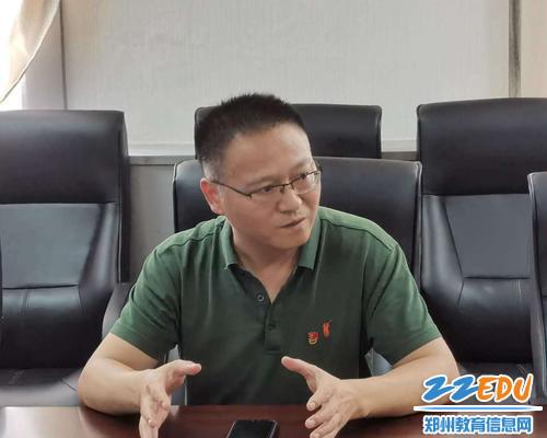 1.党支部书记安伟亮强调学习警示视频的重要性