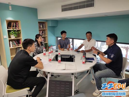3.鄭州市教研室調研指導附小籃球課程