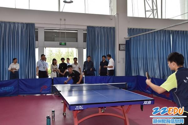 专业的乒乓球训练引得专家组赞许