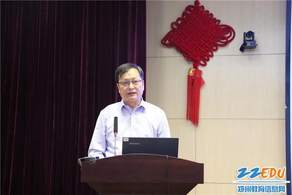 鄭州高新區管委會社會事業局黨委副書記、副局長李國林致歡迎辭