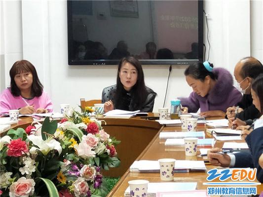 荥阳市社区学院何志玲老师安排全民学习活动周事宜