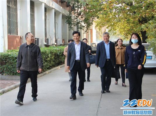 """1.郑州市教工幼儿园迎来""""双师型""""省级培训基地评估组专家一行"""