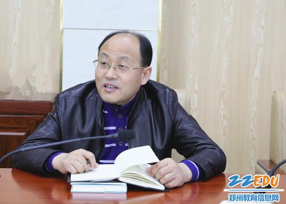 党委副书记、校长孟天义交流学习感受