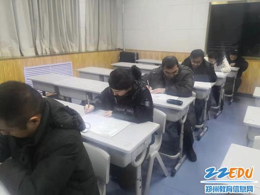 文科老师考试中