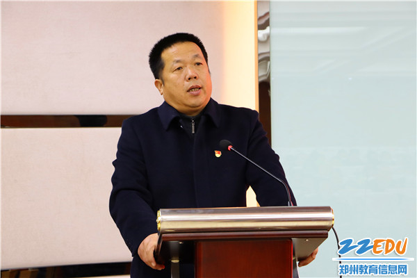 2李国喜校长主持会议