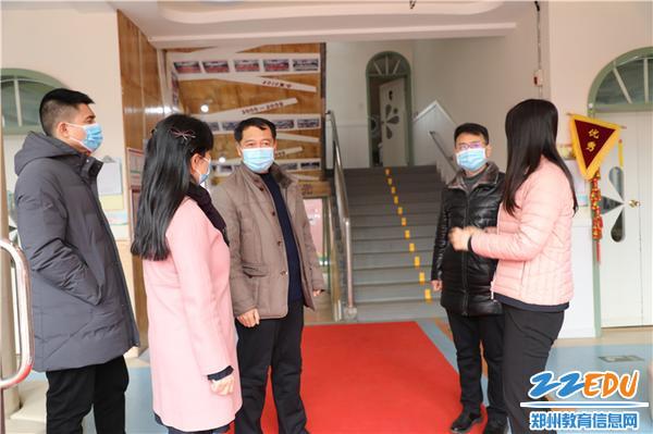 9督查组对幼儿园的疫情防控工作给予肯定
