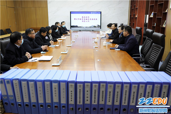 1郑州11中迎接郑州市教育局冬季疫情防控工作专项督查