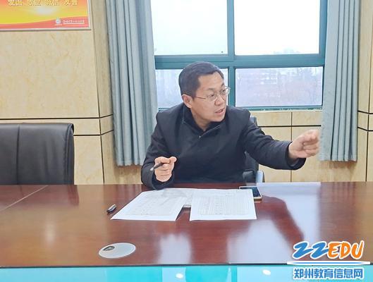 副校长李旭就新学期社团工作提出意见