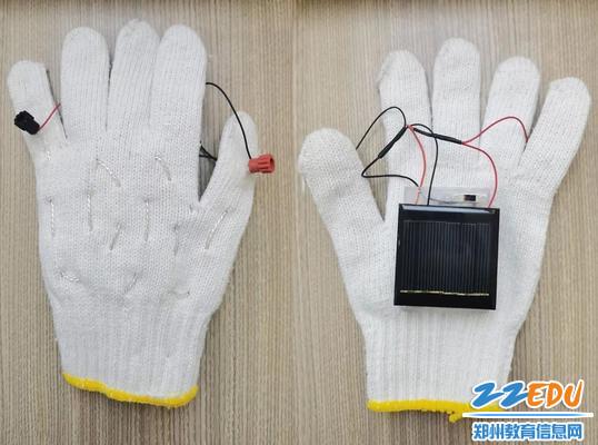 特等奖:自制电热手套