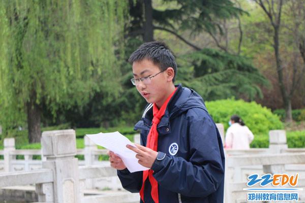 2.学生周思成讲述北伐战争历史