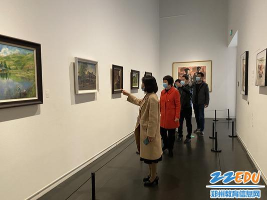 参观郑州市美术馆