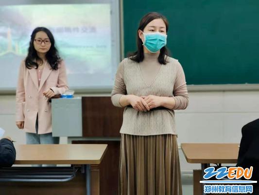新闻宣传负责人蒋潇做总结