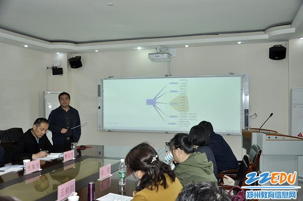 郑州市金融学校老师分享经验