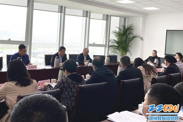 郑东新区召开专升本考试安全综合整治工作会议