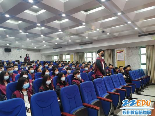 学生问答互动现场