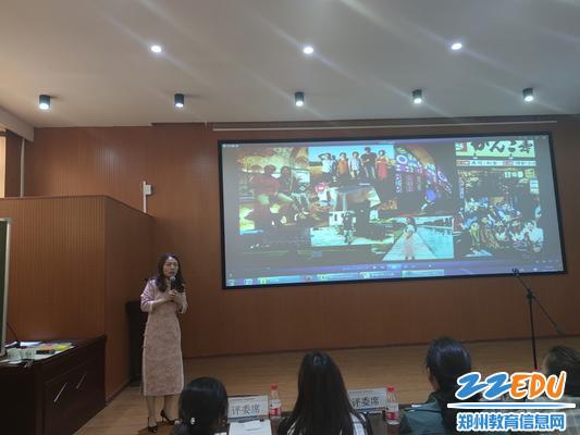 史海娟老师才艺展示多国语言讲述爱国历史