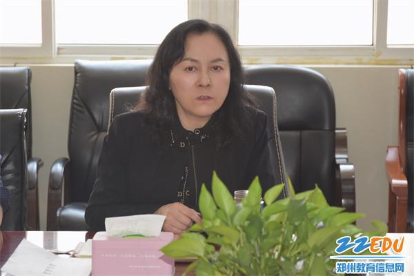5 郑州42中党总支书记、校长于红莲谈党史学习教育之廉政教育感受
