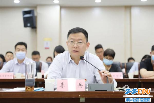 上街区委副书记、区长李兵表态发言