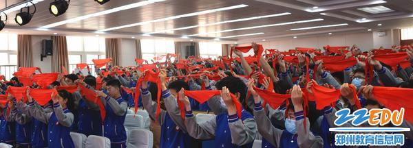 3.同学们珍藏红领巾