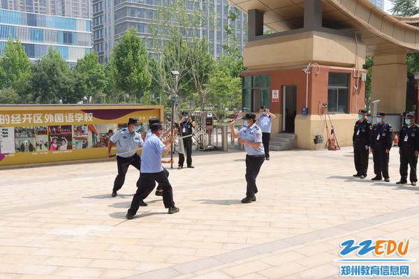 民警培训学校安保人员防爆工具使用方法