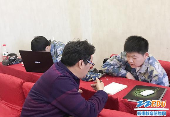 国际部双语数学吴先陶老师辅导参赛学生_副本