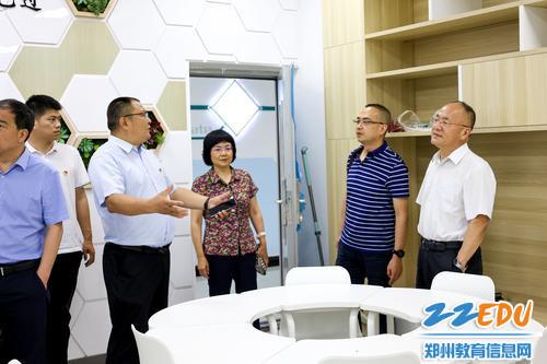 (5)参观职业素养教室
