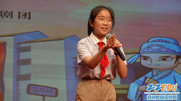 郑州八中学子的精彩表演