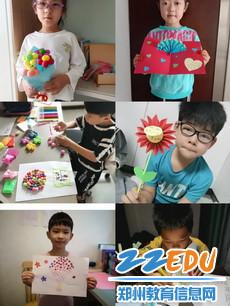 2.毓秀路小学学生手工制作礼物为教师献上节日的祝福_调整大小