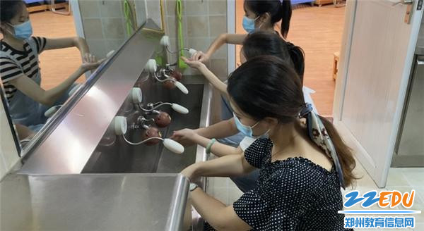 8教师练习七步洗手法