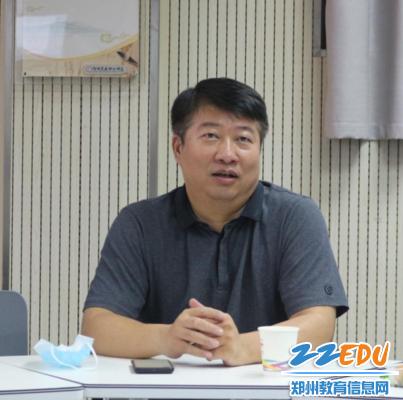 党委书记、校长宋志强做座谈会总结