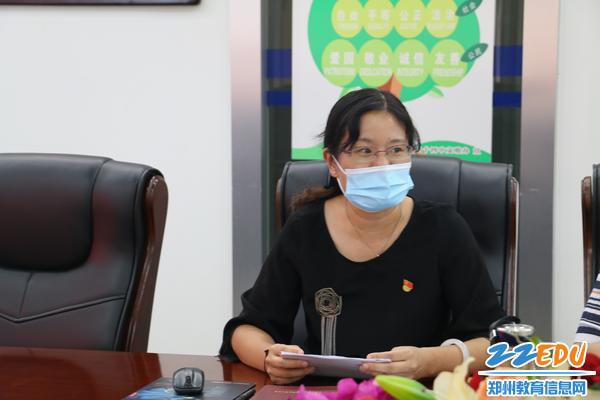 2第三支部书记卢晓燕发言