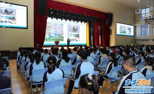解读学校文化,展示校园环境