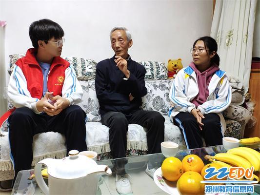 乔鸿远书记对同学们提出殷切期望