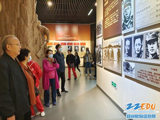 4在中原英烈纪念馆参观学习