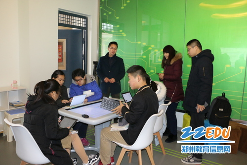 观摩未来教室公开课