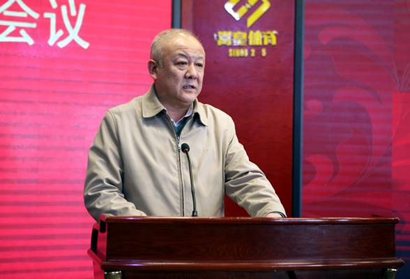 郑州市人民政府教育督导委员会副主任兼办公室主任、郑州市教育局党组书记、局长李陶然讲话。