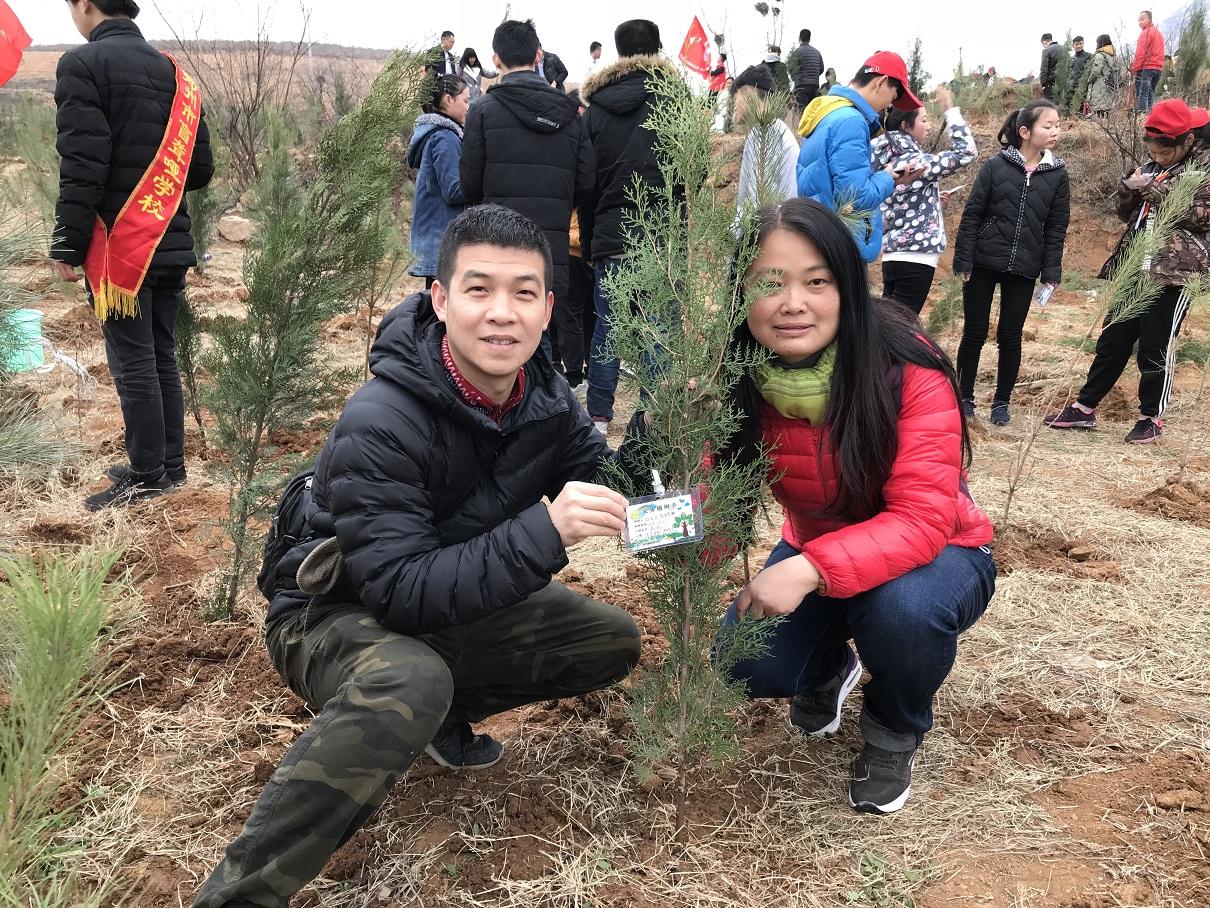植树好时节 护绿在行动--郑州教育信息网