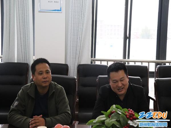 校长王志勇对检查组的到来表示欢迎