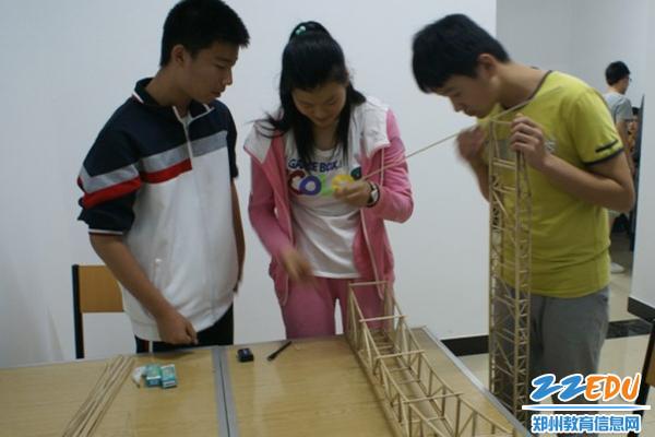 郑州44中开发的《未来工程师》作品