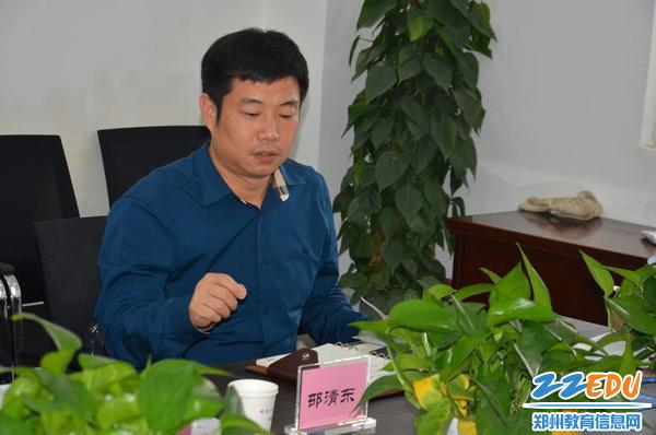 3、邵清东董事长从企业角度分析校企合作