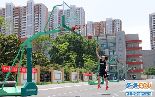 篮球专项测试