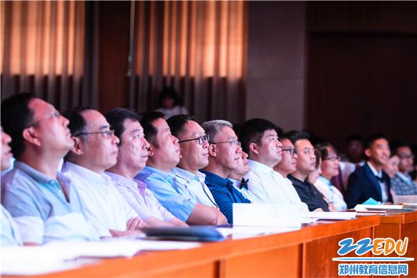 4校领导参加毕业典礼