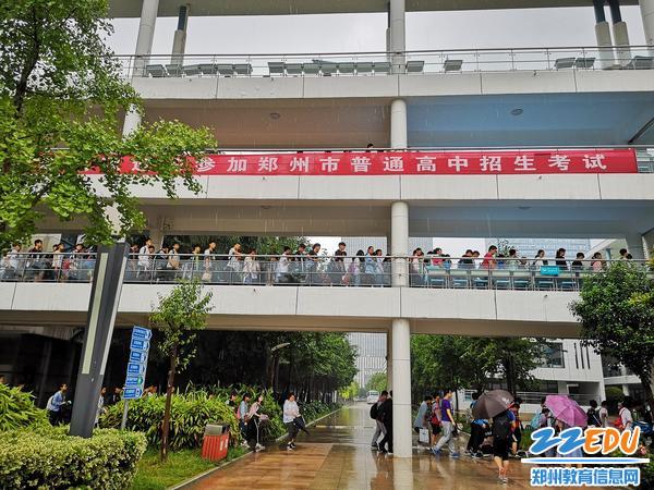 郑州47中考点人性化服务