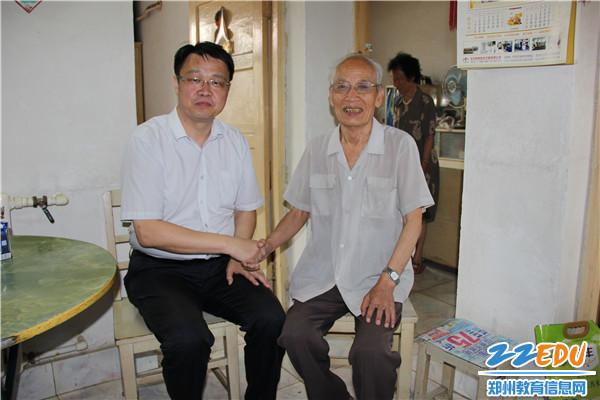 张凯书记和李贵忠老师
