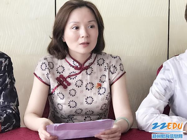 张莉书记向全体党员提出要求