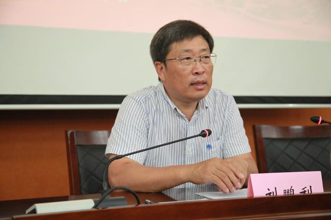 郑州市教育局党组副书记、常务副局长刘鹏利